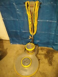 Rose Workhorse 20 Inch 1500 Rpm High Speed Floor Buffer