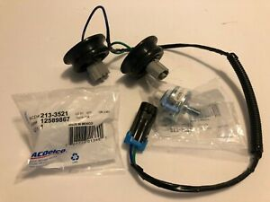 New Gm Ac Delco 12601822 213 3521 Harness Knock Sensors Kit Set Ls6 Ls7 C5 C6