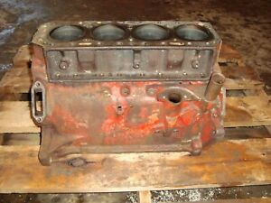 Ford 800 Tractor Gas Engine Block 900