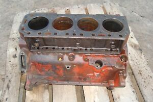 1955 Ford 860 Tractor Gas Engine Block 800
