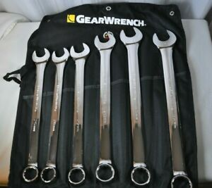 Gearwrench 81922 6 Piece Metric Large Add On Metric Combination Wrench Set New