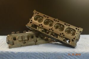 Cylinder Head Dodge Chrysler 318 360 5 2 5 9l 466 671 Magnum Pair 93 03