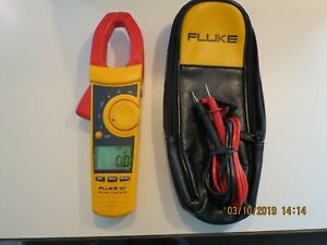 Fluke 337 True Rms Clamp Meter In Excellent Used Condition 337