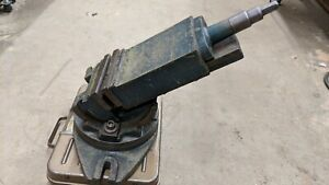6 2 Way Milling Machine Compound Vise Swivel Tilt Angle Vice