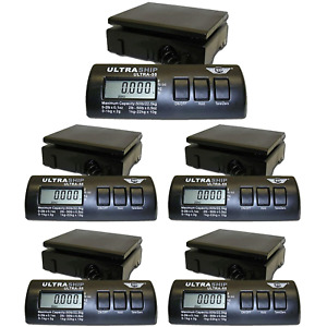 My Weigh Ultraship 55lb Digital Scale Pro Savings 5 pack For Pizzeria Bakery