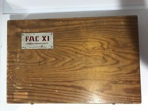 Super Rare Universal Construction Kit By Fac X1 Made In Sweden Vintage Tools