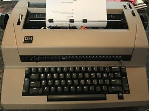 Ibm Correcting Selectric Iii Typewriter In Good Cosmetic Cond Parts Or Repair