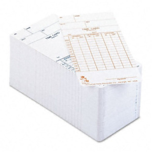 Acroprint Atr121 Weekly bi weekly Time Cards For The Atr120 Time Clock