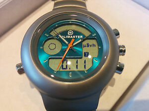 Pm1208 Gamma Radiation Detector Watch Dosimeter Geiger Calibrated By Polimaster