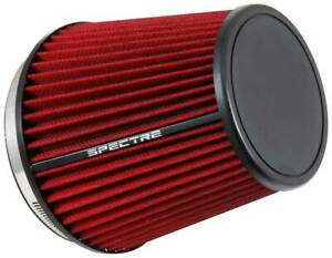 Spectre Hpr9892 Performance Cold Air Intake Red Filter 6 Clamp On