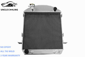 New 2 1 2 Thick 3 Rows 17 27 Model t Ford Engine bucket All Aluminum Radiator