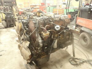 Caterpillar C15 Twin Turbo Diesel Engine Complete Runner Bxs 435 Hp Truck Cat