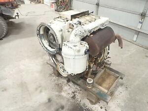 Deutz F3l1011 Diesel Engine Runs Mint Video F3l1011f Vermeer Jlg Manlift