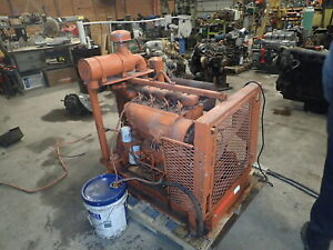 Deutz F4l912 Diesel Engine Power Unit Runs Mint Video 912 70 Hp Pump Vermeer