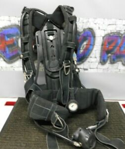 Drager Airboss Evolution Pss 100 Series Scba Harness Missing Battery Cap