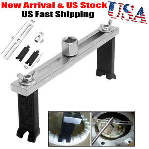 Portable Adjustable Fuel Pump Wrench Spanner Tool For Mercedes Benz Audi Vw