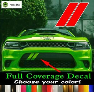Dodge Charger Hash Marks Front Bumper Decal Daytona Scat Pack 392 2015 2019