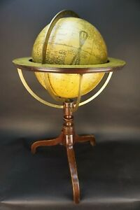 Antique New Terrestrial Globe By G Woodward London 1840 S