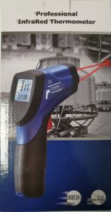 Infrared Thermometer Dual Laser Targeting Ir Temperature G Amecal St 8861b