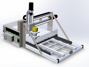 Metal Cutting Cnc Router Mill Plans By Vasherdesign