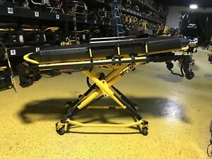 Stryker Power Pro Xt 700lb Ambulance Stretcher Cot W 6252 Stair Chair Ferno 7800
