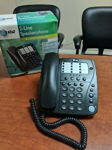 At t 982 2 Line Speaker Business Office Telephone Phone