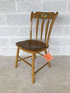 L Hitchcock Connecticut House Collection Arrow Back Side Chair