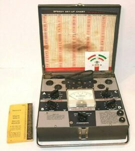 Sencore Mighty Mite Ii Tube Tester Model Tc 114
