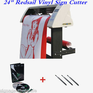 24 Redsail Vinyl Sign Cutter With Contour Cut Function