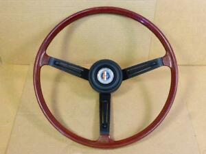 Datsun 510 Sss Wood Steering Wheel Ta