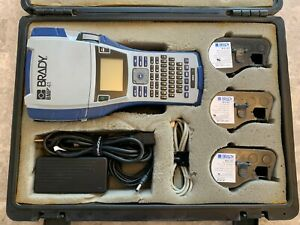 Brady Bmp41 Label Printer Bundle With 4 Cartridges used