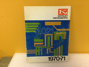 Keithley Instruments 1970 1971 Product Instruments Catalog
