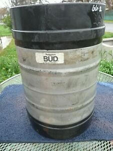 Beer Keg 1 2 Barrel Used Empty Stainless Steel Anheuser busch Bud