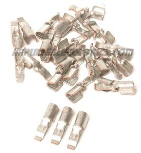 Anderson Powerpole 45 Amp Contacts For 10 14 Ga Wire 100 Pack