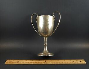 Antique English Sterling Silver Trophy Cup Robert Pringle Sons London 1910