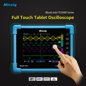 Micsig Digital Tablet Oscilloscope To1152 150mhz 2ch 1g Sa s Real time Sampling