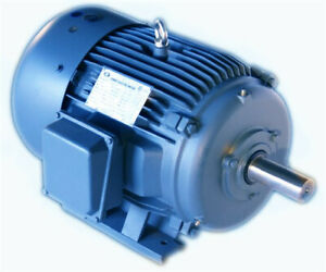Premium Efficency Cast Iron Ac Motor 1hp 1800rpm 143t 3phase Tefc Footed