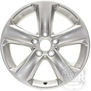New Set Of 4 17 Replacement Alloy Wheels And Centers For 2006 2015 Toyota Rav 4