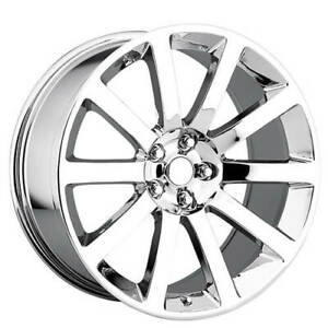 4rims 22 Chrysler 300c Srt8 Wheels Chrome Oem Replica Fs