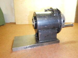 Older 5c Collet Spin Index Fixture Machinist Tool Jig Lot B