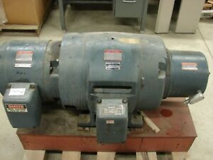 General Electric Triclad Generator Set Control Cabinet 30 Hp Number 2