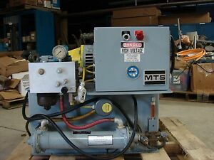 Mts Hydraulic Power Supply 3 1 Gpm 3000 Psi Model 506 01d