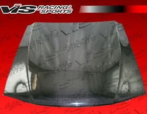 For Mustang 94 98 Ford 2dr Oem Vis Racing Carbon Fiber Hood 94fdmus2doe 010c