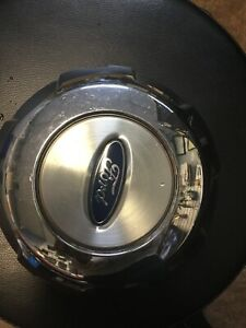 Ford F 150 Oem Wheel Center Cap 4l34 1a096 Gc Chrome With Machined Center