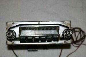 Vintage Fomoco Car Auto Radio Original 4sm105528 See Desc And Pics