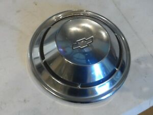 Vintage Chevy Gm Bowtie 10 5 Dog Dish Hub Cap Hot Rod Car Truck Hubcap