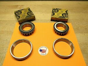 1930 To 1938 Buick Chevy Olds Pontiac Differential Bearings Kb 11445 z Usa 0100