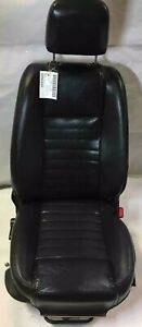 2005 2007 Mustang Gt Coupe Passenger Right Leather Bucket Manual Seat Black