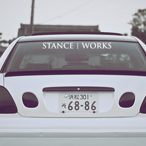 Stance Works Decal Windshield Banner Static Sticker Stanceworks