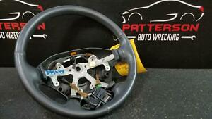 2002 Dodge Ram 1500 Leather Wrapped Steering Wheel W Controls